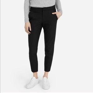 Everlane Wool Blend Black Slim Trouser Dress Pants